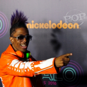 Backstage at the Nickelodeon Halo Awards