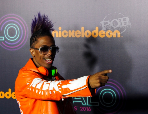 Host Nick Cannon at The Nickelodeon Halo Awards – Pier 36 – New York, NY – November 11, 2016