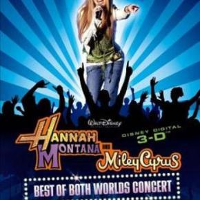 Hannah Montana and Miley Cyrus – Best of Both Worlds Concert (A PopEntertainment.com Movie Review)