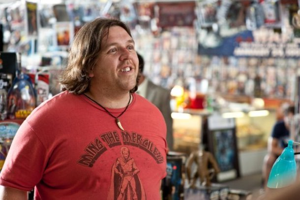 "Nick Frost in ""Paul."""