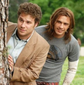 Seth Rogen and James Franco Light Up Pineapple Express