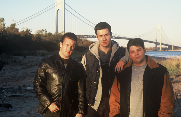 "Scott Caan, Freddie Prinze,Jr. and Jerry Ferrara in ""Brooklyn Rules."""