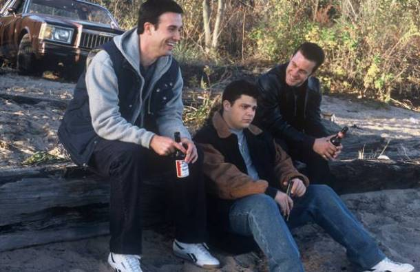 "Freddie Prinze Jr., Jerry Ferrara and Scott Caan in ""Brooklyn Rules."""