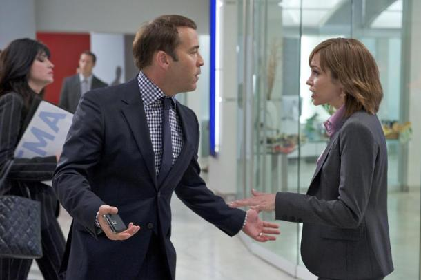 "Jeremy Piven and Autumn Reeser in ""Entourage."""
