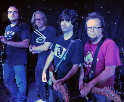 Robbie Rist and his band