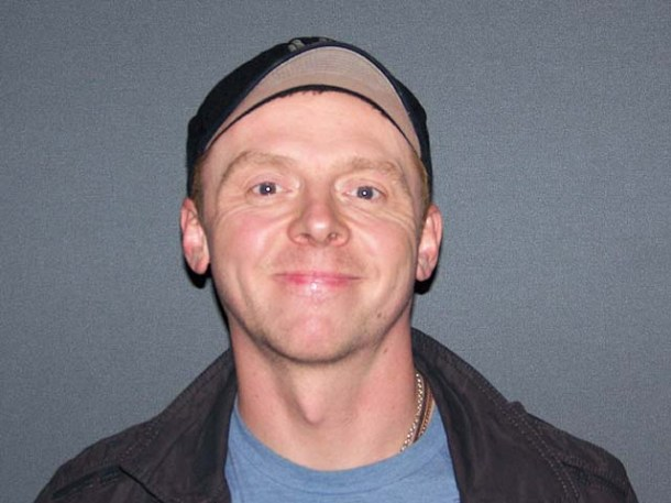 "Simon Pegg at the New York press day for ""Paul."""