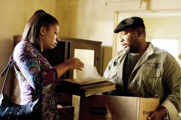 "Phyllis Montana-Blanc and Wendell Pierce in ""Treme."""