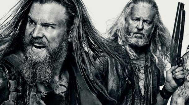 """Ryan Hurst and David Morse in """"Outsiders."""""""