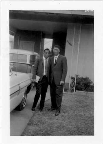 James Baldwin and Medgar Evers.