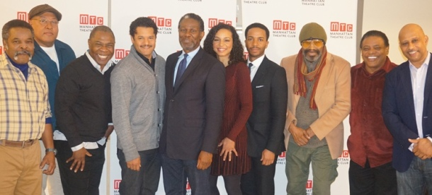 "Cast and crew of ""Jitney"""
