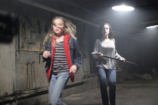"Bella Shouse and Julie Benz in ""Havenhurst."""
