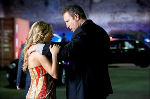"""Julie Benz and John Corbett in """"Ricochet."""""""
