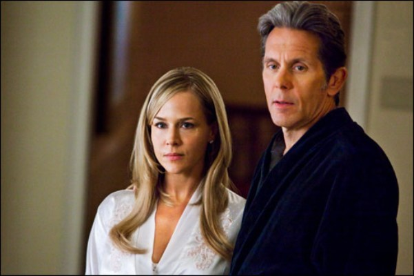 "Julie Benz and Gary Cole in ""Ricochet."""
