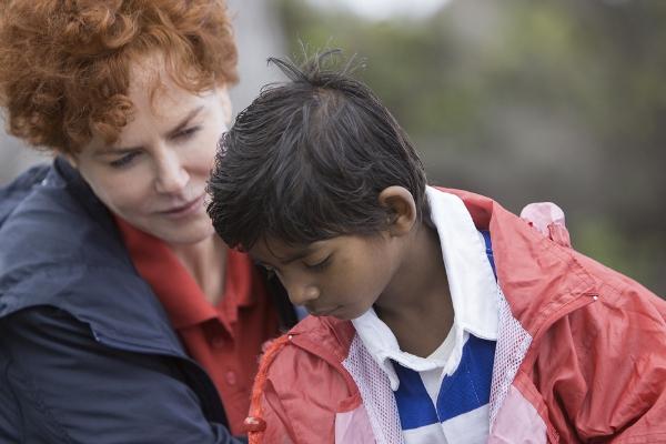 "Nicole Kidman and Sunny Pawar in ""Lion."""