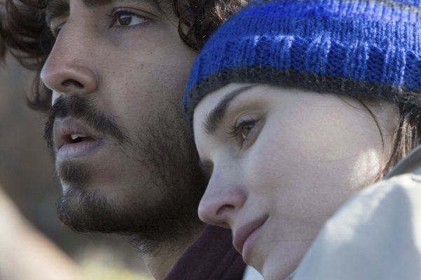 "Dev Patel and Rooney Mara in ""Lion."""