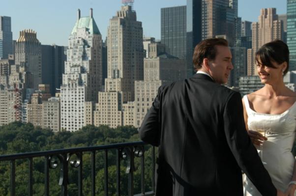 "Nicolas Cage and Bridget Moynihan in ""Lord of War."""