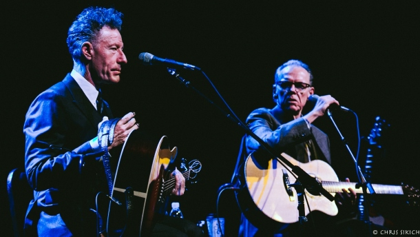 Lyle Lovett and John Hiatt – Scottish Rite Auditorium – Collingswood, New Jersey – January 26, 2017 – Photo by Chris Sikich © 2017