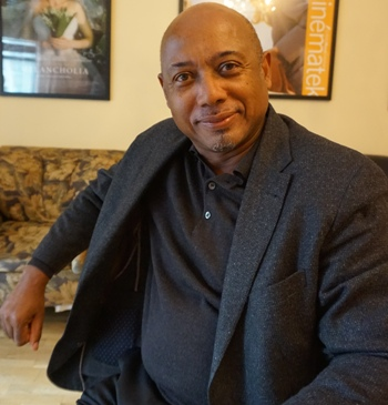 "Raoul Peck, director of ""I Am Not Your Negro,"" in New York."