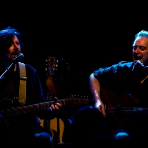 Wesley Stace and Eric Bazilian – Tin Angel – Philadelphia, PA – February 1, 2017 (A PopEntertainment.com Concert Review)