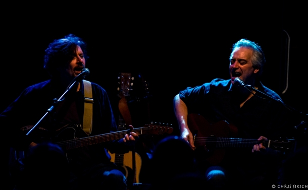 Wesley Stace and Eric Bazilian – Tin Angel – Philadelphia, PA – February 1, 2017 – Photo by Chris Sikich © 2017