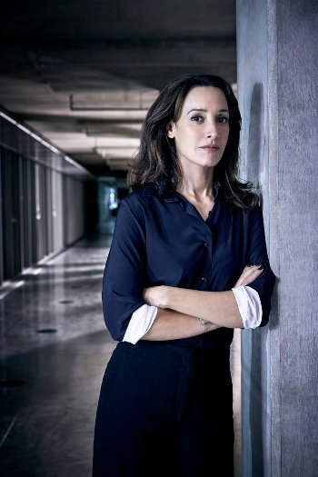 TAKEN -- Season: 1 -- Pictured: Jennifer Beals as Christina Hart -- (Photo by: Jeff Riedel/NBC)