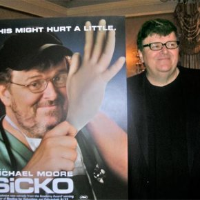 Michael Moore Heats up the Debate with SiCKO