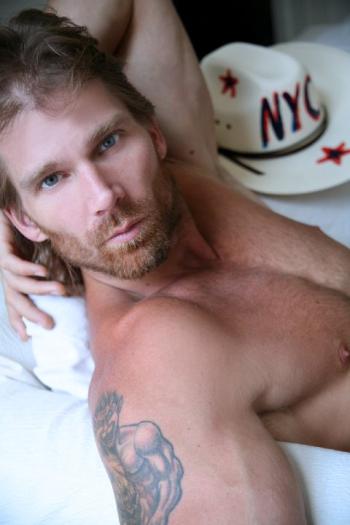 Robert naked cowboy playgirl