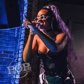 Justine Skye – Voltage Lounge – Philadelphia, PA – March 22, 2018 (A PopEntertainment.com Concert Photo Album)