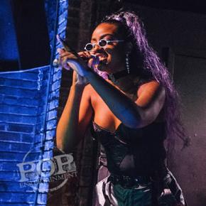 Justine Skye – Voltage Lounge – Philadelphia, PA – March 22, 2018 (A PopEntertainment.com Concert PhotoAlbum)