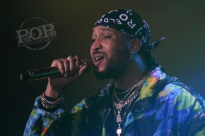 Ro James & BJ the Chicago Kid – Underground Arts –Philadelphia, PA – May 21, 2018 (A PopEntertainment.com Concert Photo Album)