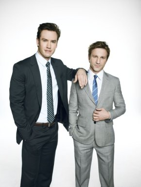 Mark-Paul Gosselaar and Breckin Meyer – Having Fun with the Law