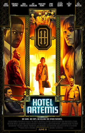 Hotel Artemis (A PopEntertainment.com MovieReview)