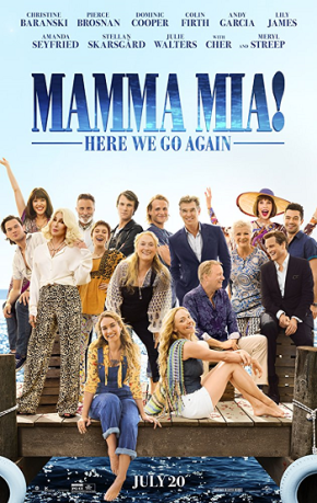 Mamma Mia: Here We Go Again (A PopEntertainment.com MovieReview)