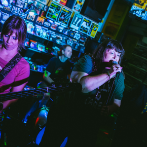 Pylon Reenactment Society – Randy Now's Man Cave – Bordentown, NJ – June 28, 2018 (A PopEntertainment.com Concert Review)