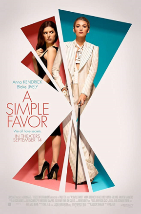 A Simple Favor (A PopEntertainment.com MovieReview)