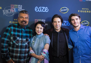 On the Red Carpet with the Cast of River Runs Red