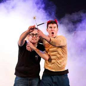 Dan and Jeff – Entertaining the Muggles with PottedPotter