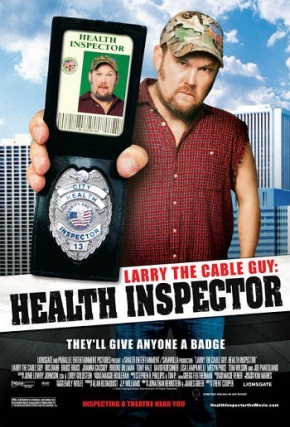 Larry the Cable Guy – Health Inspector (A PopEntertainment.com Movie Review)