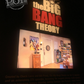 Big Bang Theory comes to life at the Warner Brothers Studio Tour in Burbank