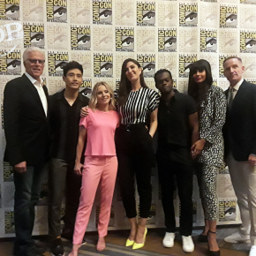 Kristen Bell, Ted Danson, Jameela Jamil, D'Arcy Carden & Michael Schur – The Good Place Says Goodbye at Comic-Con 2019