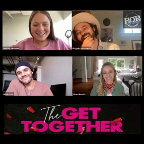 Alejandro Rose-Garcia, Courtney Parchman, Jacob Artist and Johanna Braddy – Getting Together with the cast of The GetTogether